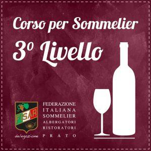Corso Sommelier 3° Livello FISAR