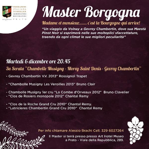 Master Borgogna terza serata